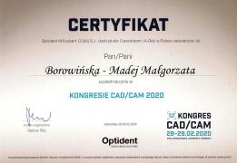 Dyplom CADCAM MBM