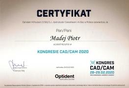 Dyplom CADCAM PM