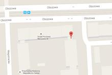 Lokalizacja gabinetu Optident